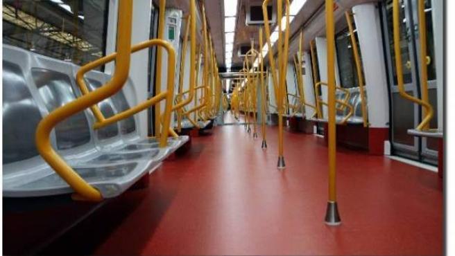Así son los nuevos trenes de la línea 6 de Metro.