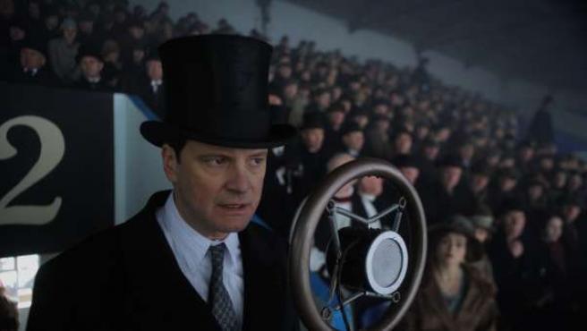 Colin Firth en uno de los papeles de su vida: el del rey Jorge VI.