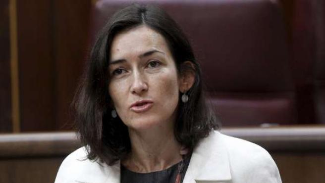 La ministra de Cultura, Ángeles González-Sinde.