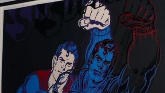 El cuadro 'Superman' de Andy Warhol, robado de Nueva York.