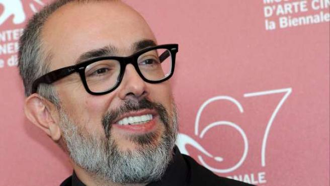 El director de cine y presidente de la Academia, Alex de la Iglesia.