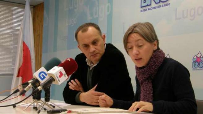 FOTOS BNG LUGO: Rolda Prensa Consecuencias Do Plan Xeral