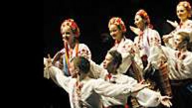 Coro, Ballet y Orquesta del Ejército Ruso.