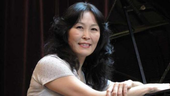 La pianista Sayá Sangidorj