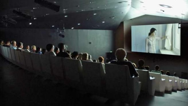 Butacas de cine público