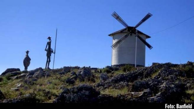 La ruta de don Quijote cruza 148 municipios de Castilla-La Mancha.