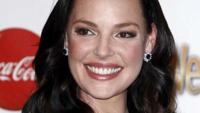 La actriz Katherine Heigl optó a los Globos de Oro por su papel en 'Anatomía de Grey'.