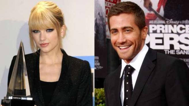 Taylor Swift y Jake Gyllenhaal.