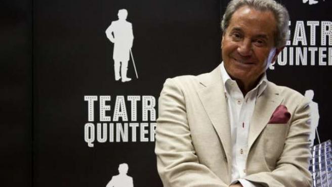 Arturo Fernández vuelve al Teatro Quintero con 'La montaña rusa'