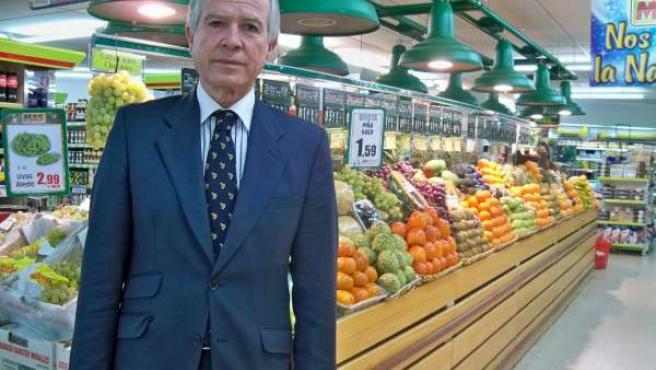 Director general de ventas de Supermercados MAS, Antonio Perín.