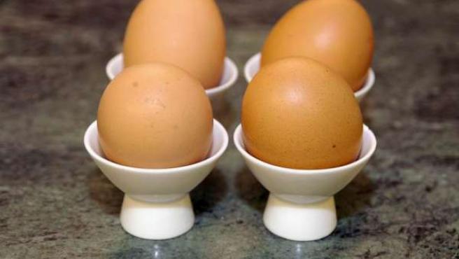 Dos pares de huevos