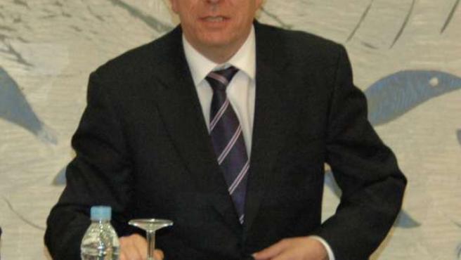 El rector de la ULE, José Ángel Hermida