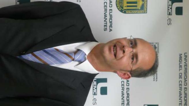 El rector de la UEMC, Martín J. Fernández Antolín