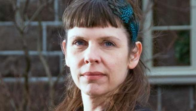 Birgitta Jónsdóttir, diputada del parlamento islandés y colaboradora de Wikileaks.