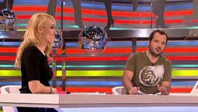 Imagen del programa 'Sé lo que hicisteis', presentado por Patricia Conde y Ángel Martín.