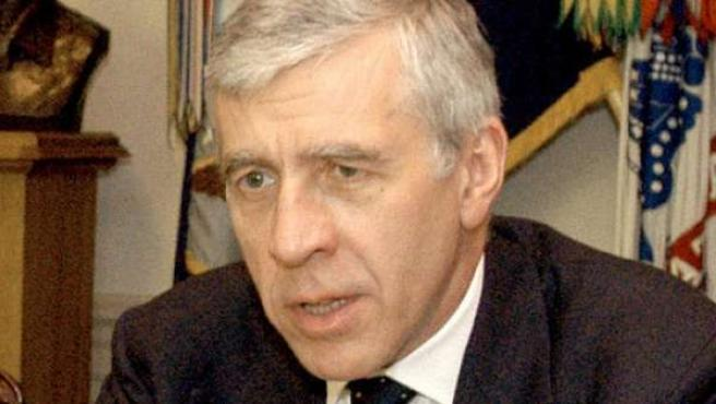 El ex ministro Jack Straw.