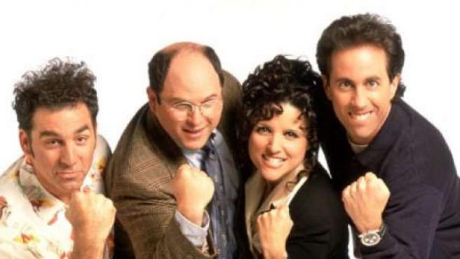 Actores de la serie 'Seinfeld'.