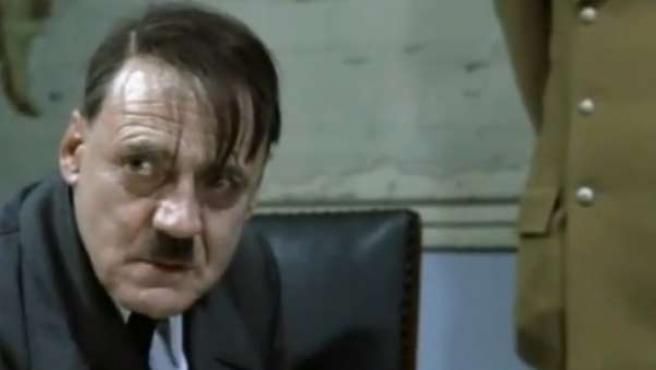 Bruno Ganz, como Hitler en 'El Hundimiento'.