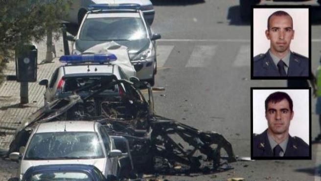 Dos Guardias Civiles murieron en el último atentado mortal de ETA en España, en 2009.