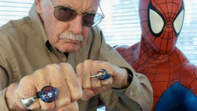 Stan Lee prepara su cameo en la nueva 'Spiderman'