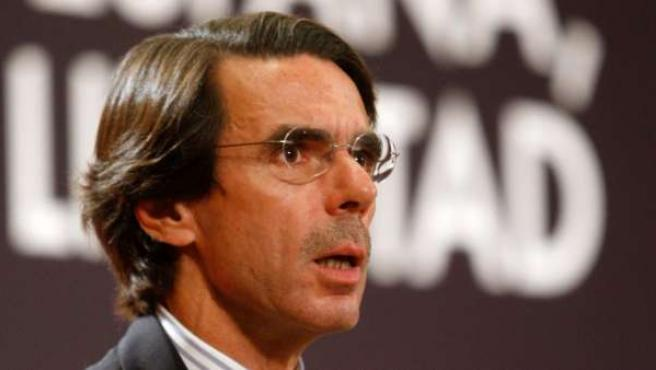 El expresidente José María Aznar.