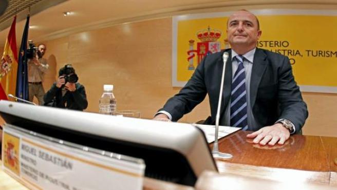 El ministro de Industria, Miguel Sebastián.