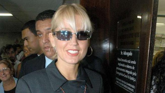 Xuxa, en una imagen tomada en 2003.