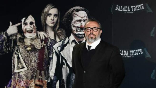 El director de cine y presidente de la Academia, Álex de la Iglesia.