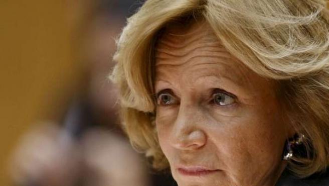 La vicepresidenta segunda y ministra de Economía, Elena Salgado.