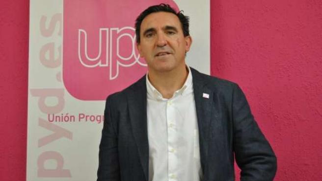 El candidato a la CARM de UPyD, Rafael Sánchez