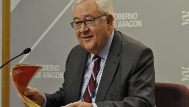 El vicepresidente aragonés, José Ángel Biel