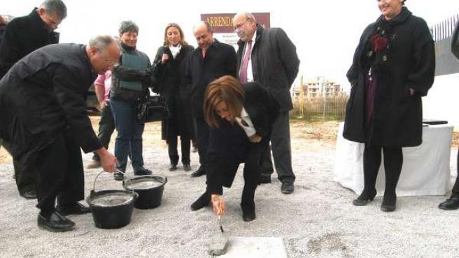 Primera piedra en Granada para el primer edificio de España exclusivo para mayor