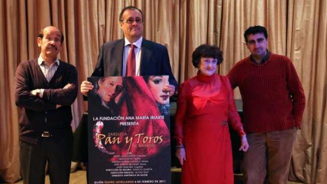 La zarzuela 'Pan y Toros' del maestro Francisco Asenjo Barbieri