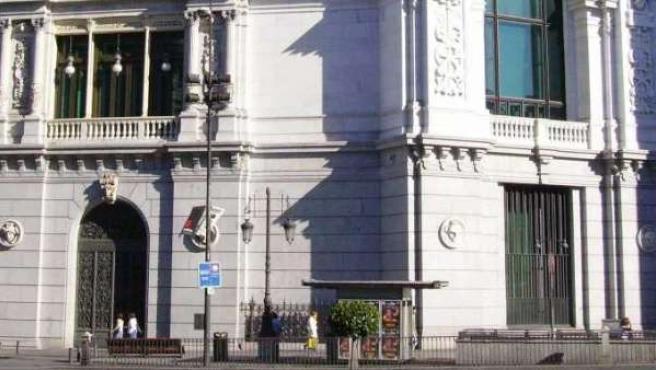 Imagen de archivo del Banco de España, entidad que vigila la solvencia de las cajas de ahorro.