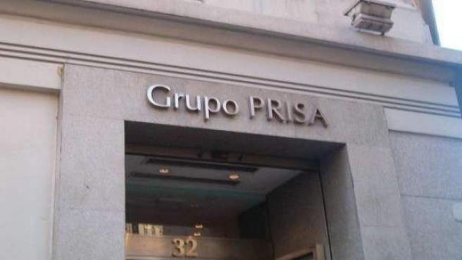 Sede que el grupo Prisa tiene en la Gran Vía madrileña.