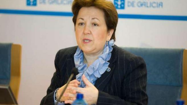 A conselleira de Sanidade, Pilar Farjas Abadía, presentará, acompañada da xerent