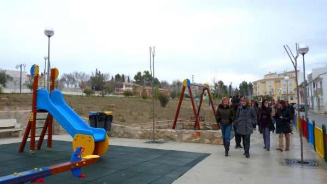 Inauguración del ecoparque en Peal de Becerro