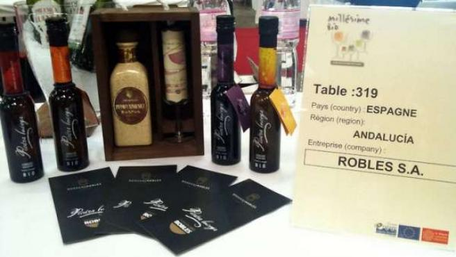 Pack de vinos generosos ecológicos de Bodegas Robles.