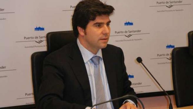 El presidente del Puerto de Santander, Christian Manrique