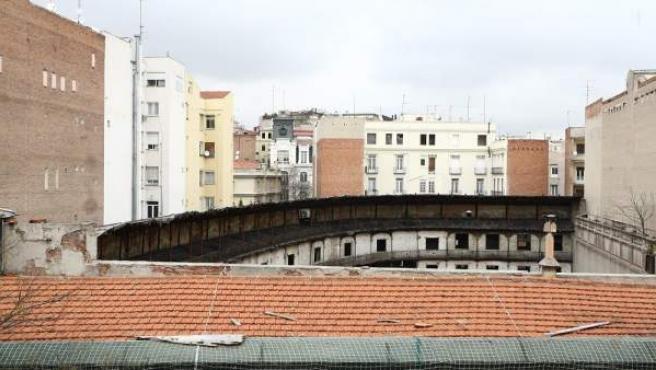 El frontón de Beti JAi, en Madrid.