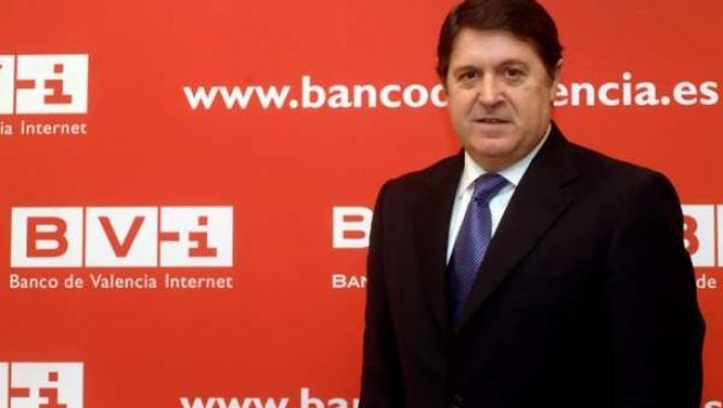 El presidente del Banco de Valencia, José Luis Olivas.