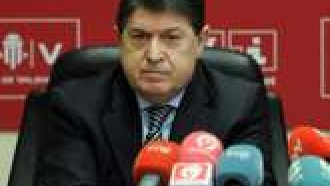 El presidente del Banco de Valencia, José Luis Olivas