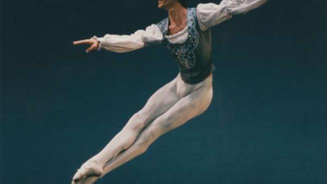 El bailarín, en una actuación