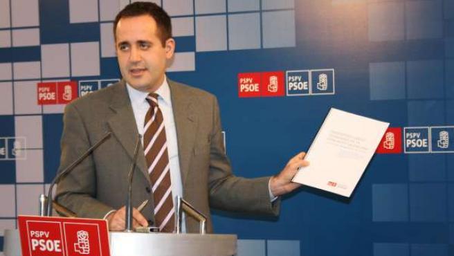 Jorge Alarte, del PSPV