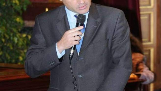 David Lucas, actual portavoz socialista en el Ayuntamiento de Madrid.