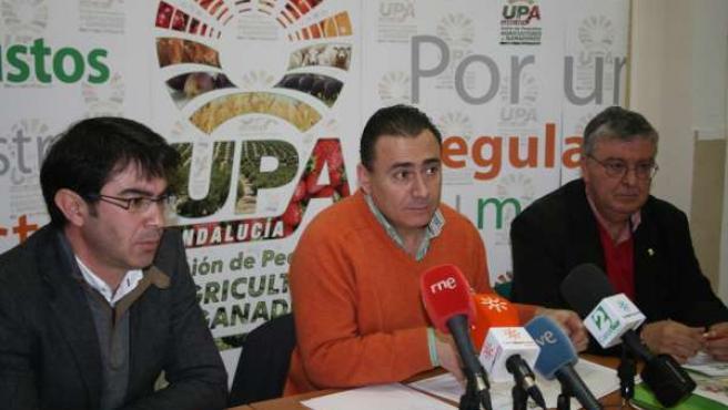 Agustín Rodríguez en rueda de prensa