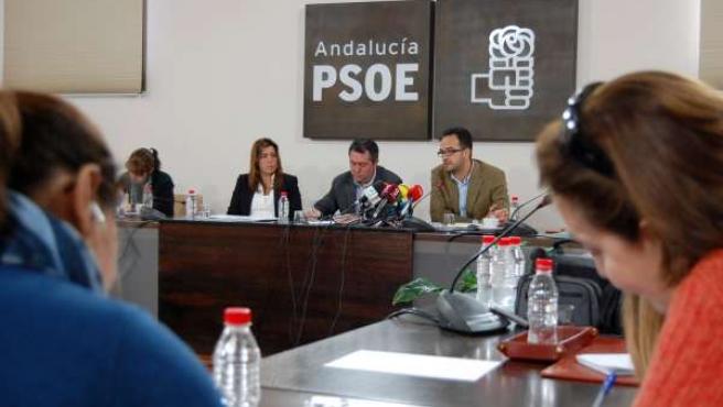 PSOE De Andalucía: Nota De Prensa Y Fotografías Del Acto De Presentación De La C