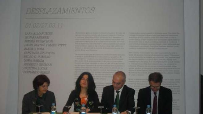 Nota De Prensa Inauguración Exposición 'Desplazamientos' En Sevilla
