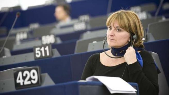 Rosa Estaràs en el Parlamento Europeo