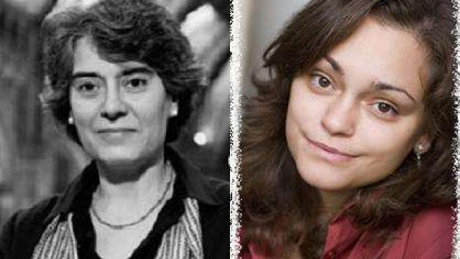 Las escritoras valencianas Matilde Asensi y Laura Gallego.